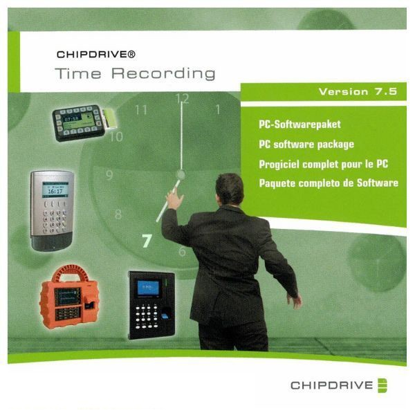 CHIPDRIVE Time Recording 7.5 (Software Produkt Lizenz) Plus 1 Stunde Support / Zeiterfassung