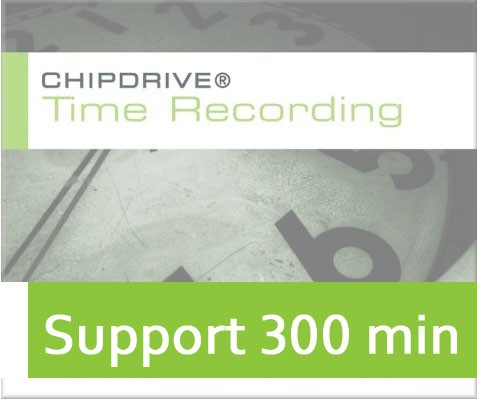 TimeRecording Support 300 min