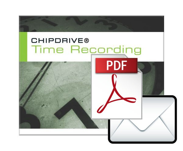 CHIPDRIVE Time Recording - Report to Mail Erweiterung - LIZENZ