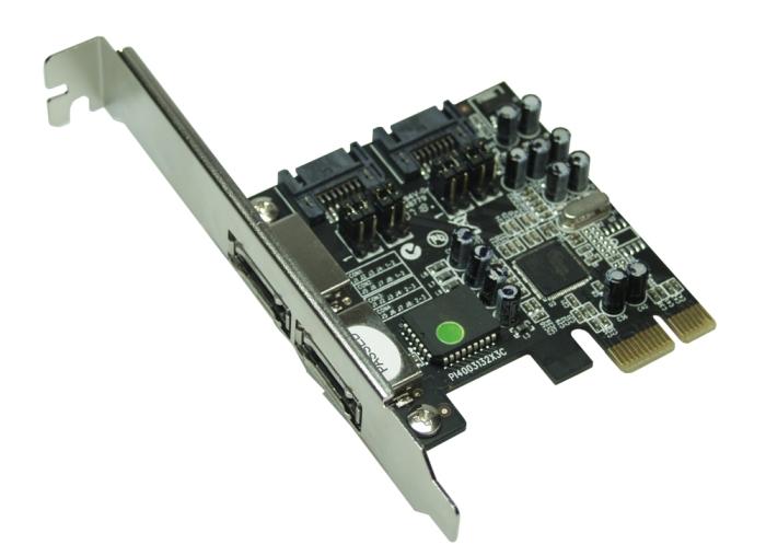 SCM PC-Card GmbH - SATA II 300 PCIe RAID Card